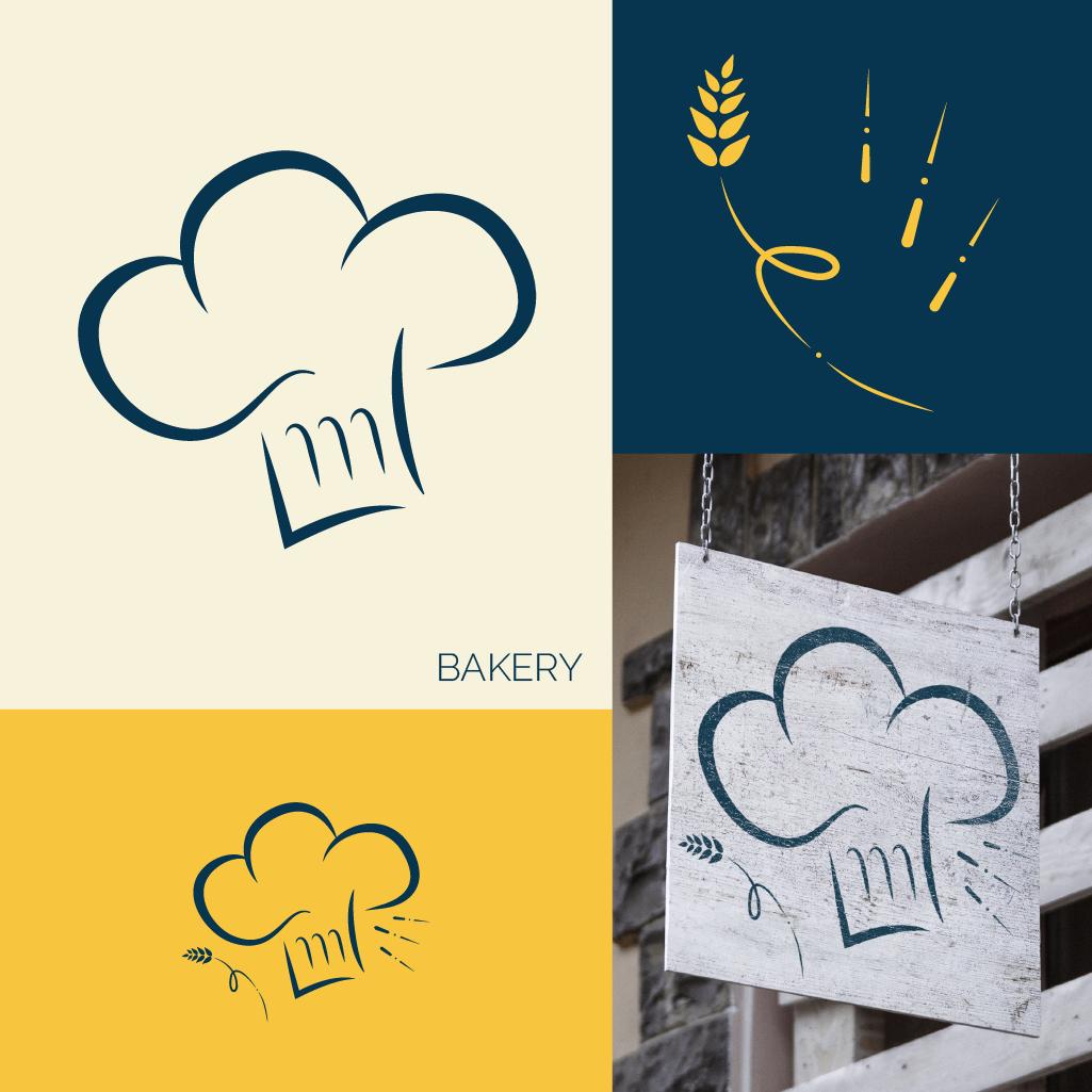 Logo destiné à une boulangerie / pâtisserie