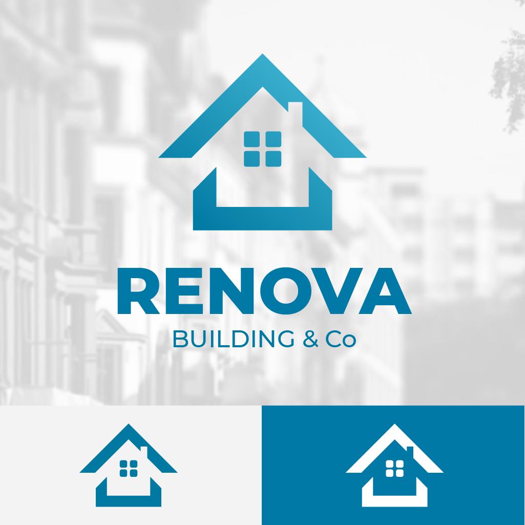 Basé sur une idée d'entreprise de rénovation de maison, batîment... RENOVA est parfait pour ce rôle.